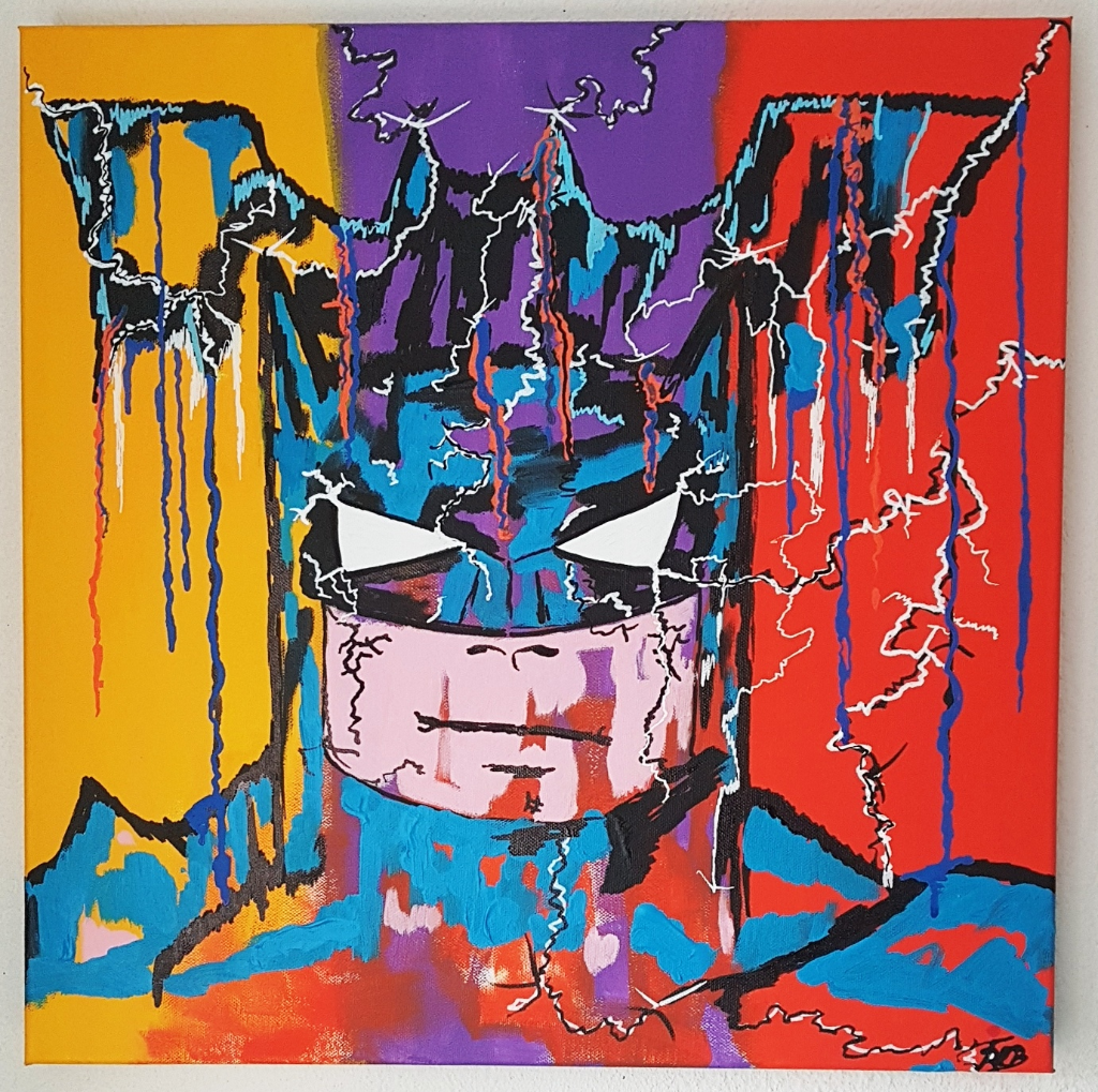 BATMAN 50X50X4 COMICS COLOUR PAINTING INSTAGRAM_1