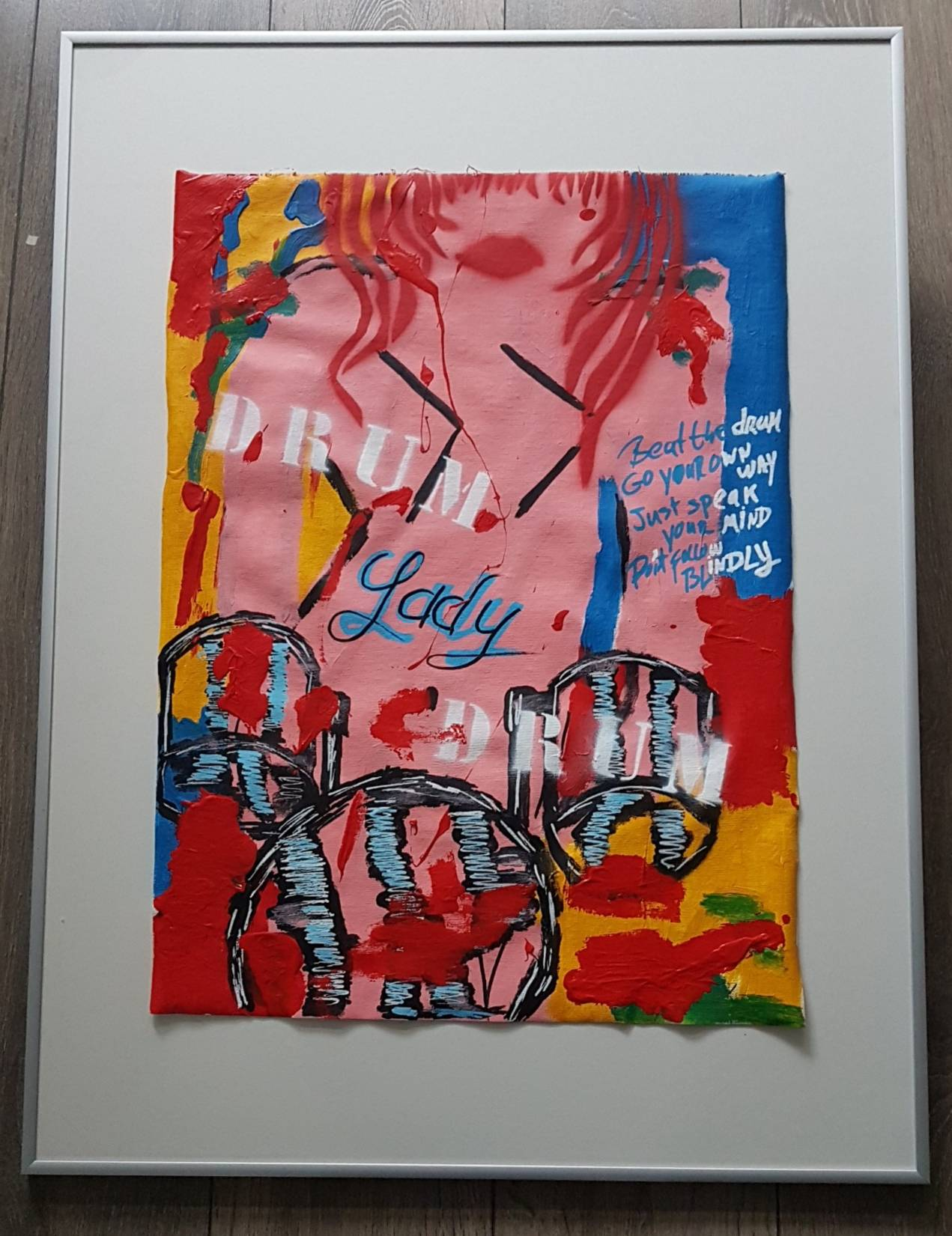 LIJST ABSTRACT 60X80 DRUM LADY DRUM (2)